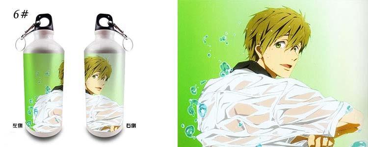 600 мл вода бутылки San и бол милый вода чашки мини подарки аниме бутылки студенты чашки