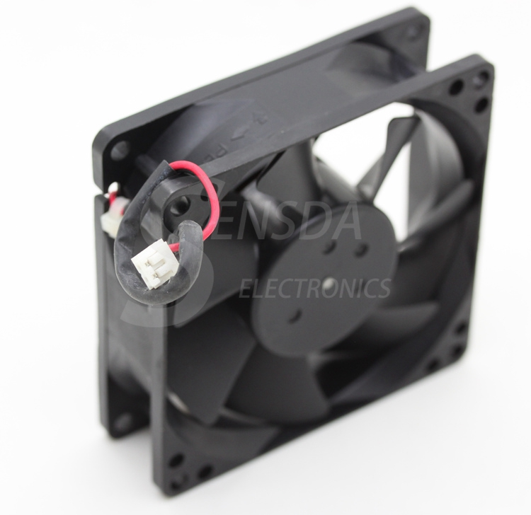 wholesale NIDEC 8025 D08A-12PS3 01 80mm 8cm DC 12V 0.5A computer cpu case inverter server axail Cooling Fans