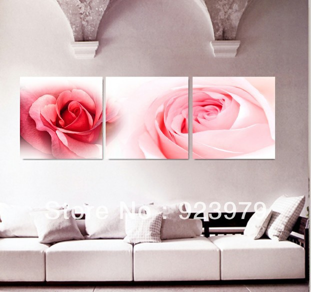 3Panels living room Picture Painting Combination Modern Canvas Paint ...
