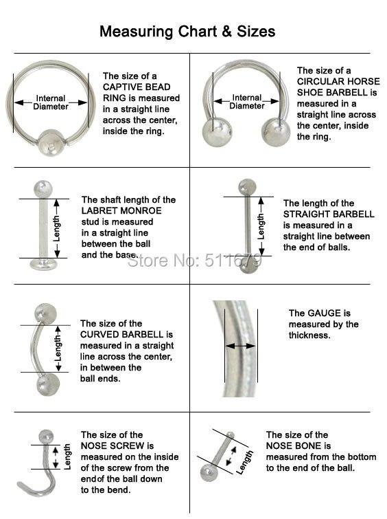 18 г/20 г/22 г 316L хирургическая сталь облицованная никелем бесплатное кольцо в Нос Обруч смешанный 5 размер пирсинг для тела ювелирные изделия