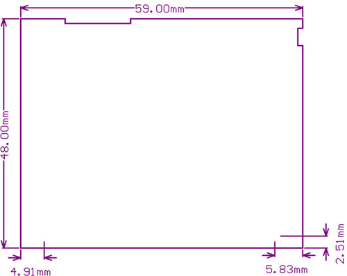 2.2inch-320x240-Touch-LCD-A-dimension