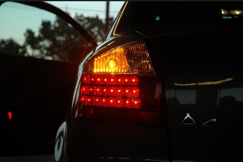 Free Shipping PcsLot Smd Car Led Rear Turn Signal Light For - Car signal light