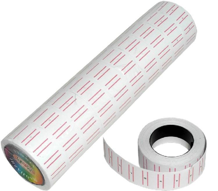 100 рулонов = 10 бочки оптовые белый бумажный ценник цена labelfor МХ-5500 цена пистолет этикетировочная машина