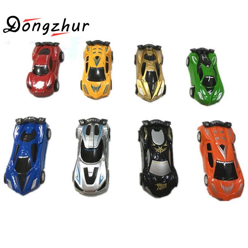 4pcs Random Color Mini Car Toys For Boys Kids Speelgoed Magic Race Car Toys For Children Brinquedos Menino