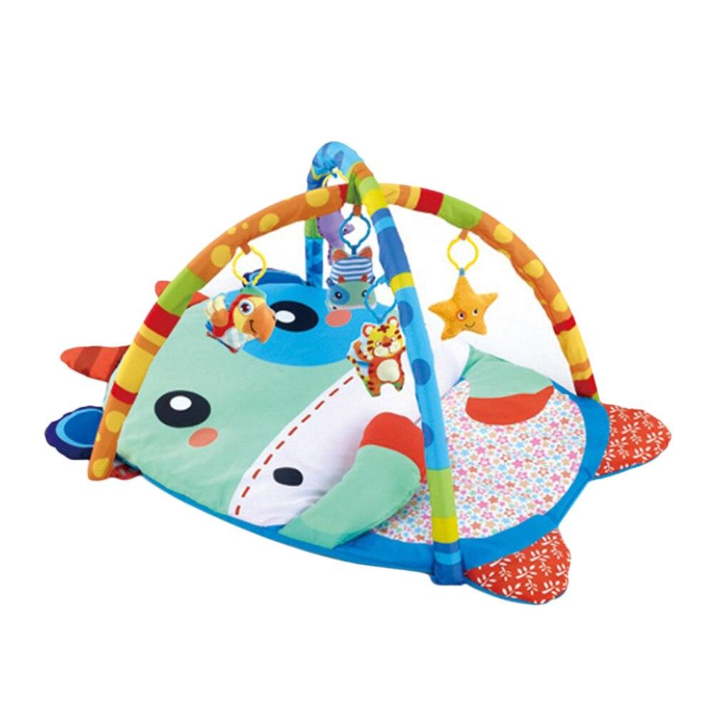 Redelijk 1 Pc Baby Fitness Frame Koe Patroon Cartoon Pasgeboren Gym Soft Educatieve Speelmat Fitness Rek Kruipen Mat Activiteit Speelgoed Mooi En Kleurrijk