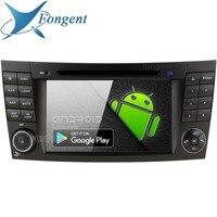 Android 9,0 автомобильный DVD мультимедийный для Mercedes Benz E G Class W209 W211 W219 W463 gps навигационная система стерео радио
