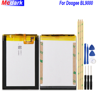 9000mAh High Quality Battery For Doogee BL9000 Batterie Bateria Accumulator AKKU ACCU PIL Mobile Phone For Doogee BL9000+Tools