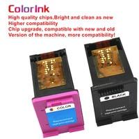 hp officejet ColoInk 2Pack 901XL CC654AA CC656AA ink cartridge For HP 901XL Officejet 4500, J4524, J4540, J4550, J4580, J4624, J4680 printer (2)