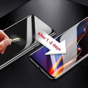 Image 5 - 9D Zachte Hydrogel Front & Back Protective Film Voor Oneplus 5 5 T 6 6 T 7 Pro Volledige Dekking screen Protector Nano film Niet Glas