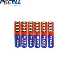 Bateria alcalina 8f10r k23a l1028 23a a23 v23ga mn21 23a 12 v baterias primárias e secas para lâmpada 24 pces pkcell 12 v 23a bateria alcalina