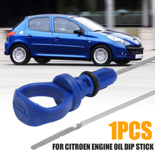 Car Engine Parts 1pc Oil Dip Stick Dipstick Measure 1174.61 117461 1174 61 For Citroen Peugeot 206 307 406