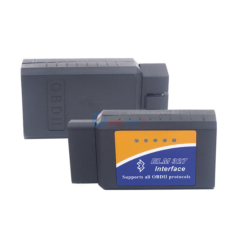 Super Mini ELM327 V2.1 Bluetooth OBD2 Auto samochodowy skaner kodów usterek ELM 327 V2.1 dla androida Torque/PC/Symbian OBD2 ELM327 Bluetooth