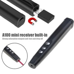 Image 5 - Kebidu Wireless Remote Control Laser Pen RF 2.4GHz PowerPoint Clicker Presentation Remote USB Control Pen + Receiver For Office