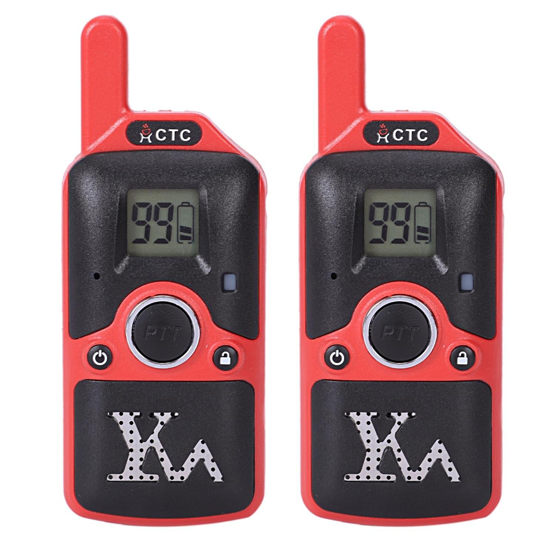 Carter Cool 2 pièces Dh-U8 Mini talkie-walkie enfants jouet Radio 1.5 W 400-480 Mhz fréquence libre 99 canaux