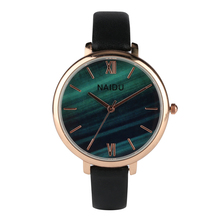 Analog Quartz Watch for Office Women Leather Band Roman Number Dial Watches for Girls Business Wristwatch for Lady ybotti number analog quartz watch