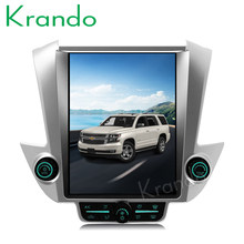 "Krando Android 8.1 12.1"" Tesla Vertical car radio For GMC Yukon / Chevrolet Tahoe Suburban 2015+ navigation multimedia player(China)"