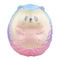 Creative Squishy Slow Rising Toy Cute Cartoon Toy Soft PU Squeeze Hedgehog Stress Reliever for Children Adults