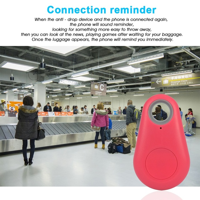 Anti-Perdido Roubo GPS tracker Dispositivo de Alarme Remoto Bluetooth GPS Tracker Crianças Pet Bag Carteira Chave Finder