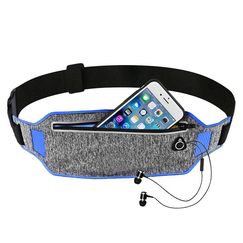 Fanny Pack Running Waist Bag Belt Sport Money Belt Packs Fit For Phone Men Women Run Trail Running Pouch Bags Sports Waistband