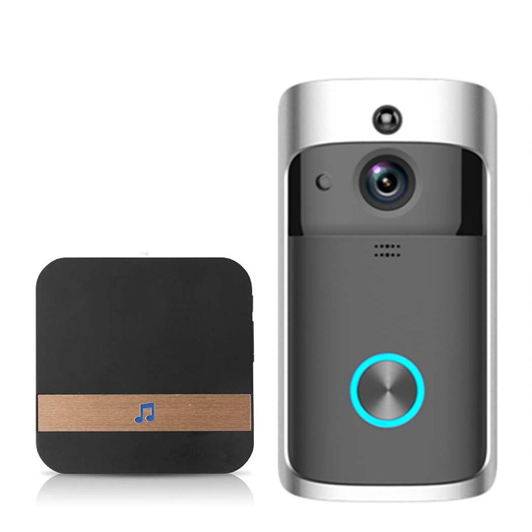 Video Wireless Doorbell WiFi HD Home Security 0dbm M3 Low Casual, Door, Power with Wireless 10-110db Ding-dongVideo Wireless Doorbell WiFi HD Home Security 0dbm M3 Low Casual, Door, Power with Wireless 10-110db Ding-dong