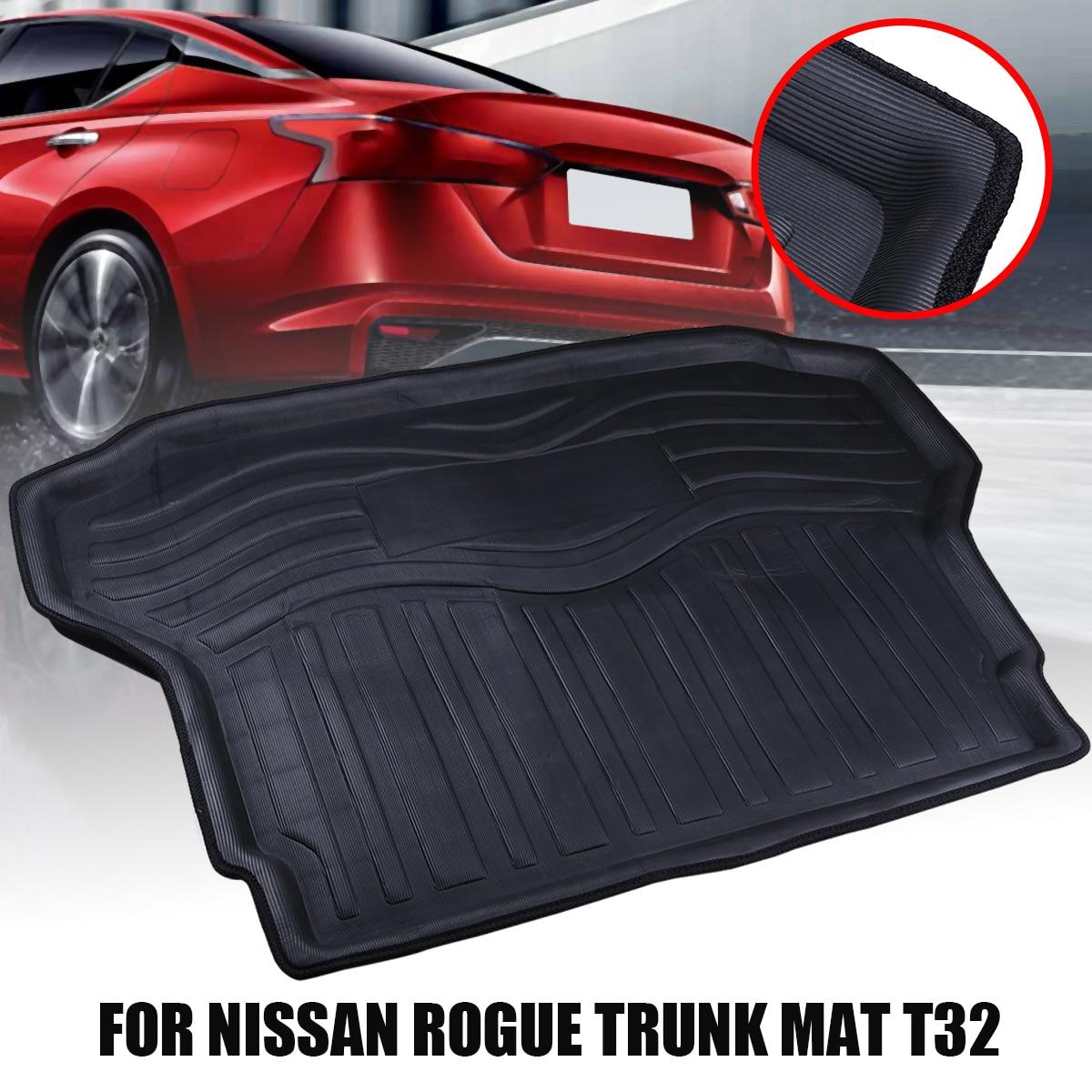 Car Interior Floor Mats 3D High side Rear Trunk Cargo Boot Mat Liner Tray For Nissan Rogue X Trail 2014 2018