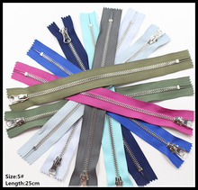 wholesale 5#,25cm,10pcs high quality mix metal zipper,DIY clothing accessories,Tailor Sewing Tools Garment Accessories,010