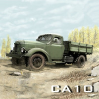 Kingkong RC 1/12 Scale Soviet ZIS 150/CA10 4x2 4WD Truck with Metal Chassis KIT Set Climbing Car