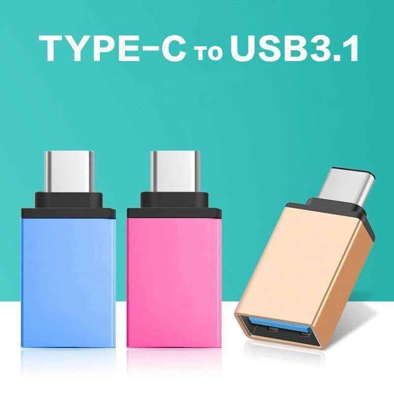 HobbyLane USB-C نوع C 3.1 ذكر إلى USB 3.0 نوع شاحن أنثي مزامنة البيانات محور OTG r20