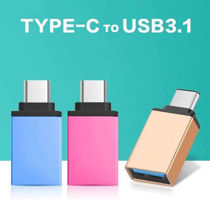 HobbyLane USB-C Type C 3.1 Male To USB 3.0 Type A Female Adapter Sync Data Hub OTG D20