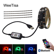 LED Strip Light Bluetooth USB Waterproof SMD 5050 Ambilight TV Backlight Tria 5V RGB LED Tape Stripe Ribbon Fita Bais Lighting neoteck 1m led rgb strip color changing usb tv background lighting smd 5050 waterproof led ribbon tape for indoor outdoor decor