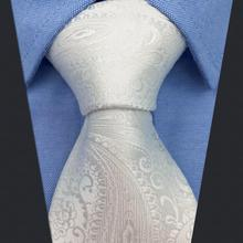 Accessories Mens Neckties Classic Paisley Necktie Fashion Jacquard Woven