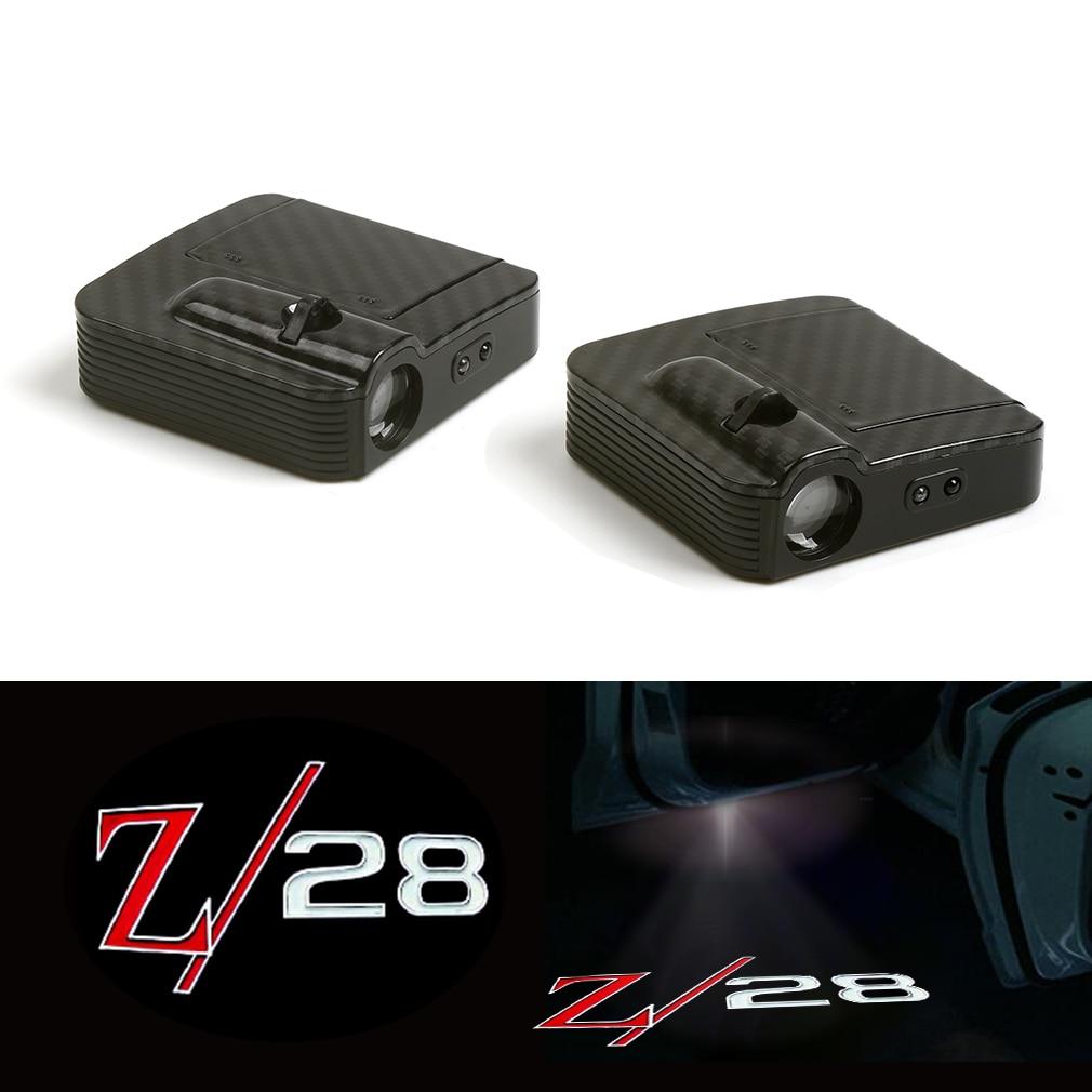 Helder Auto Deur Draadloze Led Laser Projector Shadow Light Geschikt Voor (chevrolet Camaro Z28) 12 V Opruimingsprijs