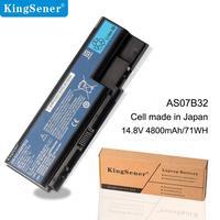 KingSener 8 Cell AS07B32 Laptop Battery for Acer Aspire 5720G 5730 5739 5910G 5920 5935 5942 6530 6920 6930 7220 7730G AS07B31