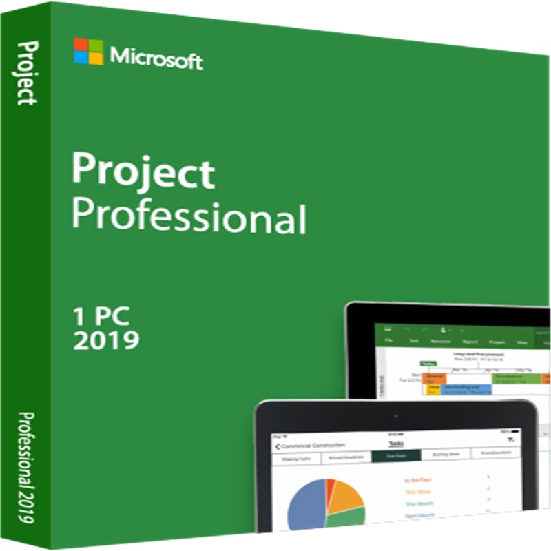 Image 3 - Microsoft Office Project Professional 2019 License key Download Digital Delivery 1 User-in Office Software from Computer & Office