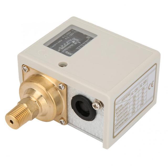 """Interruptor de Control de presión Eletronic para compresor de bomba de aire y agua, alta calidad, 24V ~ 380V, PT1/4"""""""