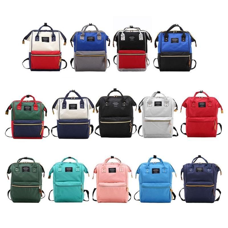100% QualitäT Mode Mumie Mutterschaft Windel Tasche Marke Große Kapazität Baby Tasche Reise Rucksack Designer Pflege Tasche Für Baby Pflege! Harmonische Farben
