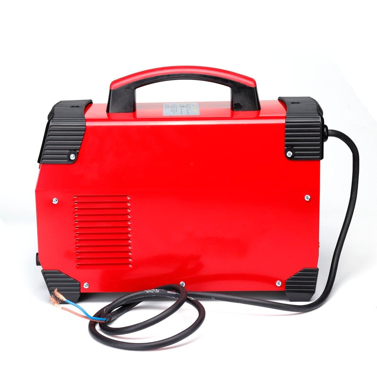 Neueste 220V 7700W 2IN1 TIG/ARC Elektrische Schweißen Maschine 20-250A MMA IGBT STICK Inverter Für Schweißen Arbeits und Elektrische Arbeits