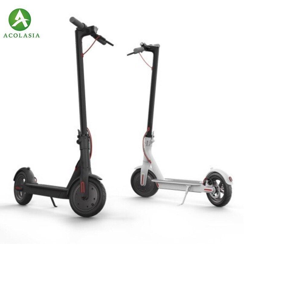 Scooter électrique mijia Longboard skate 2 adulte M365 hoverboard scooter roue scooter électrique avec Version européenne App unisexe