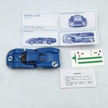 1:43 Atlas Dinky zabawki 1425E niebieski MATRA 630 ALLOY #5 Diecast modele samochodzik dla dziecka edycja limitowana kolekcja