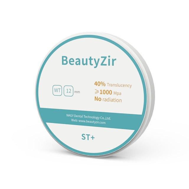 HT ST dental zirconia ceramic blocks for wieland open cad cam thickness 10-25mm