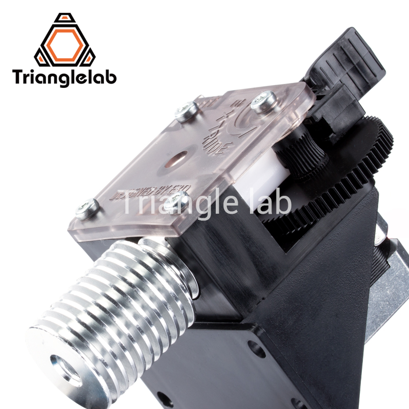 Trianglelab titan Extruder for desktop FDM 3D printer reprap MK8 J-head bowden free shipping ANET MK8 i3 mounting bracket trianglelab 3d printer titan extruder new metal gear hobb hardened steel free shipping reprap mk8 i3