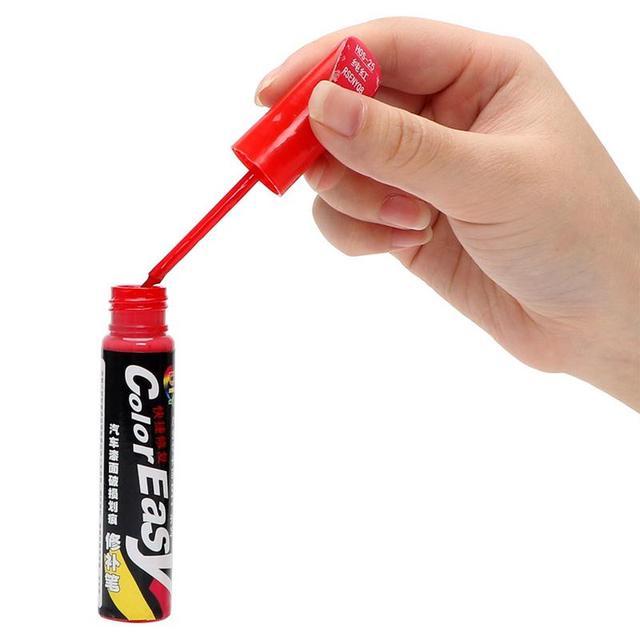 12ml samochód Auto Coat Scratch wyczyść naprawa marker z farbą Touch Up wodoodporny Remover aplikator praktyczne narzędzie 4 kolory tanie i dobre opinie vvcesidot Malarstwo długopisy Car touch up pen 0 08square meter Pigment Solvent car Repair Paint Pen Remover Applicator Practical Tool