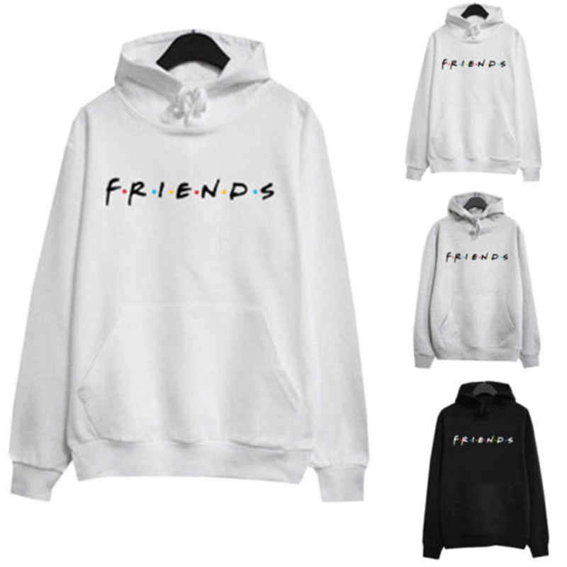 למבוגרים לשני המינים נשים מכתב חברים הדפסת הסווטשרט Jumper סלעית מעיל Sweatershirt אימונית בסוודרים