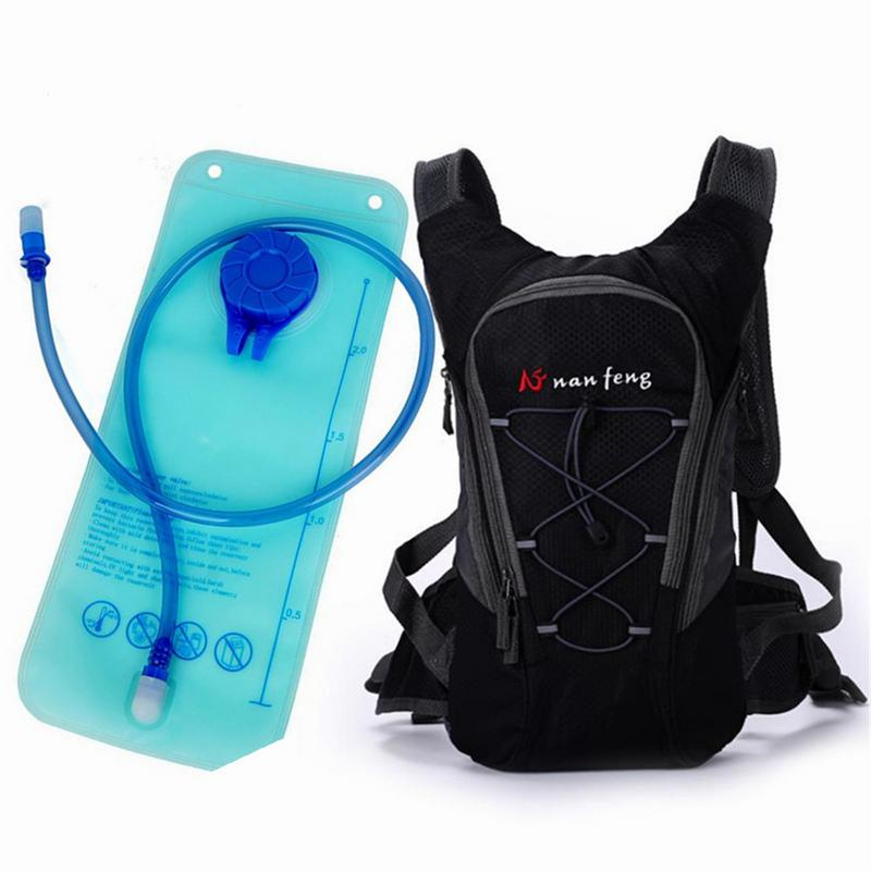 Collection Here Waterproof Camping Backpack 2l Water Bag Outdoor Sports Climbing Cycling Bag Hydration Bladder Camelback Water Pack
