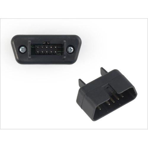 Connector OBD II NACK Orion mini (3060) 16 pin connector adaptor for odb car diagnostic tool high quality obd 2 connector eobd jobd odb odbii eobd2 obd11