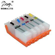 BOMA. LTD PGI-580 CLI-581 чернильный картридж для принтера Canon принтерам PIXMA TS6151 TR8550 TR7550 TS6150 TS8150 TS8151 TS8152 TS9150 TS9151 чип
