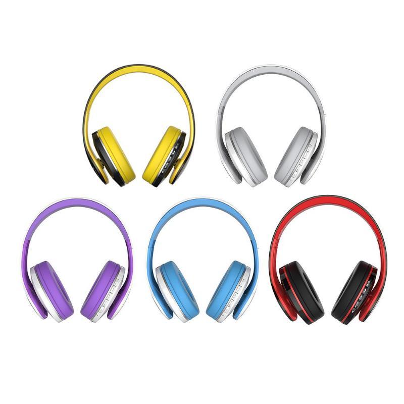 JKR 213B Wireless Bluetooth4.2 Headphones with Mic Noise Reducing Music Headset Mega Bass Headset FM Radio SD Card Headphone