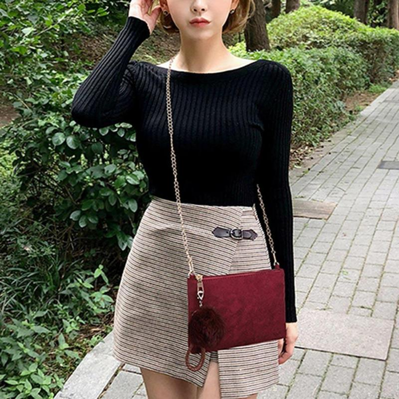 Classic Women Scrub PU Leather Messenger Clutch Elegant Chain Shoulder Bags Party Banquet Glitter Bag For Women Girls