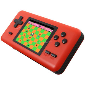Image 3 - WOLSEN 8 Bit Retro Station Pocket Handheld Game Built in 586 games 3.0 Inch Video Game Console Support Micro TF card Load game
