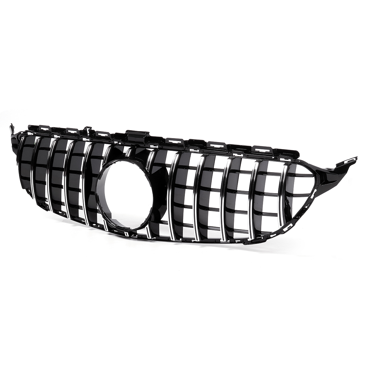High quality Car Grille Grills Car Front Bumper Mesh For Mercedes For Benz W205 For AMG Look C200 C250 C300 C350 2015-2018High quality Car Grille Grills Car Front Bumper Mesh For Mercedes For Benz W205 For AMG Look C200 C250 C300 C350 2015-2018